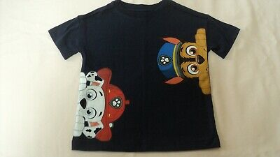 New Old Navy Collectabilitees Navy PAW PATROL 2T Toddler Boy Tee Shirt Top