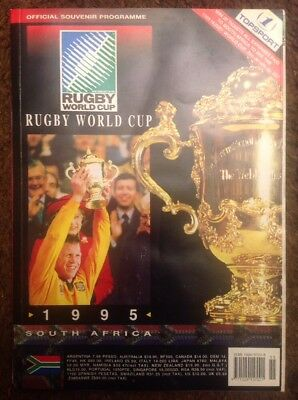 1995 Rugby World Cup official souvenir programme