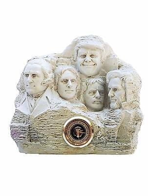Donald J. Trump Mount Rushmore TrumpMore With Presidential Clock USA US #MAGA#