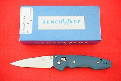 Benchmade 477-1 Emissary Osborne Design Axis Assist, Cpm-S30V Knife, New In Box