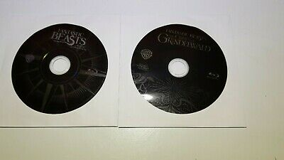 Fantastic beasts And Crimes of Grindelwald (Bluray Discs ONLY) No DVD No Digital