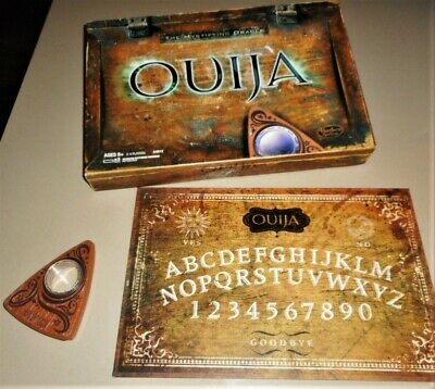 OUIJA BOARD GAME ~ The Mystifying Oracle w/ Lighted Planchette ~ EUC ~  Hasbro