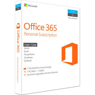 Microsoft Office 365 Personal Subscription P2 - QQ2-00597