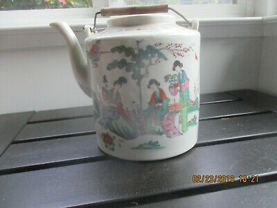 early 1900's chinese teapot,