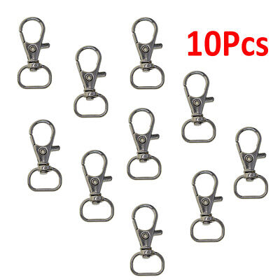Lobster Clasps Keychain Swivel Trigger Clips Snap Hook Lanyard Keyring 37*17mm