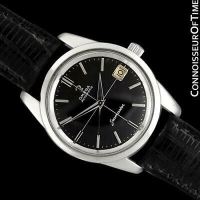 1964 OMEGA SEAMASTER Mens Vintage Cal. 562 SS Steel Watch - Mint with Warranty