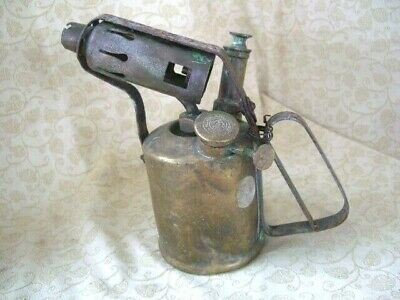 Vintage Paraffin Blow Lamp Governor Collectibile Blow Torch/ lamp