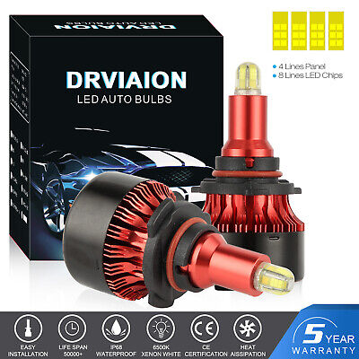 9005 HB3 200W 30000LM LED Voiture Lampe Kit Phare Feux Ampoule Replace HID Xénon