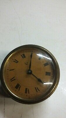 Antique HAC (LUX) clock with oil lamp trademark.no case