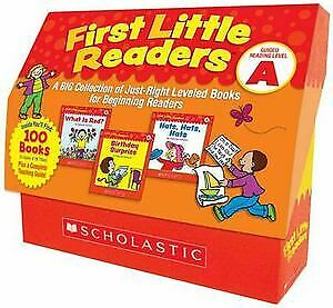 First Little Readers: Guided Reading Level A  - A Big Collection of Just-Right