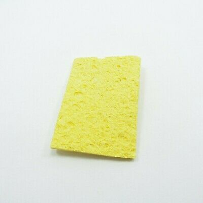 50x35x1.5mm Soldering Iron Tip Cleaning Sponge Replacement Pad Welding Solder