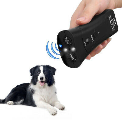 Petgentle Ultrasonic Anti Dog Barking Pet Trainer LED Light Gentle-Chaser Style