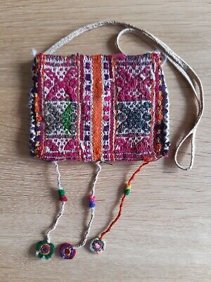 Andean Chuspa Bag, traditional hand-loomed textile