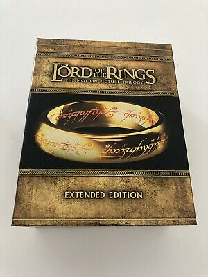 The Lord of the Rings Trilogy (il signore degli anelli) Extended Edition Blu ray