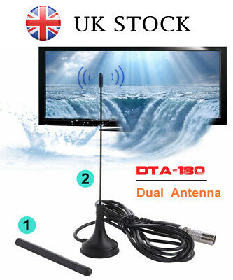 Best Portable TV Antenna Indoor Outdoor Digital HD Freeview Aerial Ariel 2019 UK
