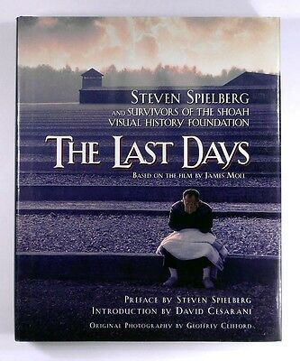 THE LAST DAYS Survivors of the Shoah Visual History Foundation - H/B - 1st - NEW