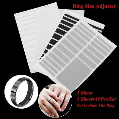 Sticker Transparent Resizing Tools Adjuster Pad Ring Size Adjuster Set Reducer