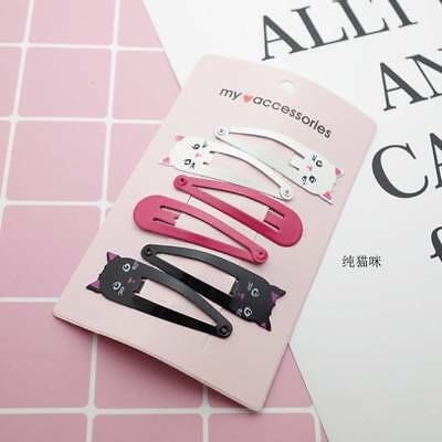 6 Pcs cute Kids Girls Baby Hair Clips Hairpins Hair Pin Gift Bag