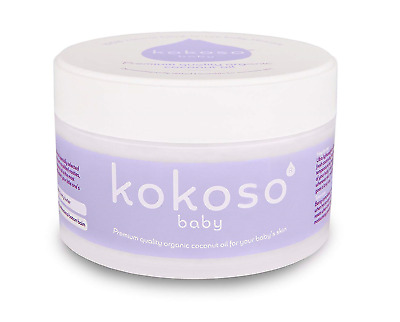 Kokoso Natural Baby Coconut Oil – Organic for Skin Care 168g