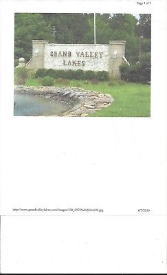Grand Valley Lakes TN -   WITH 100% FINANCING.  or purchase your cost $1,260.00