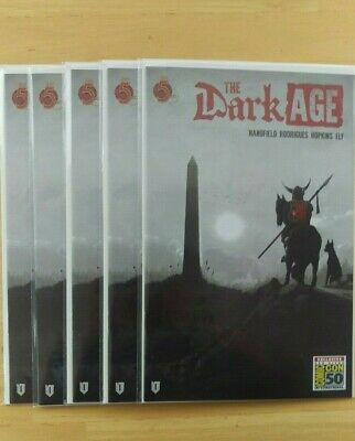 Sdcc 2019 Exclusive The Dark Age #1 Convention Variant By Red 5 Comics