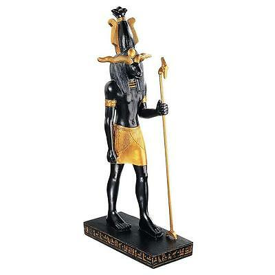 """16"""" The Gods of Ancient Egypt Sculpture Collection: Khnum Ram Headed God Creator"""
