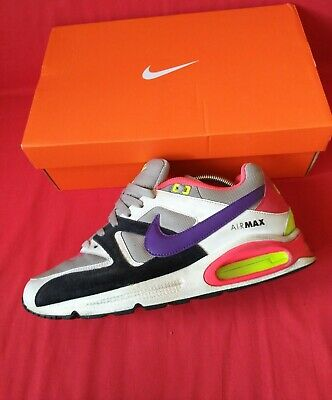 Details about Nike Air Max 90 Mens Rare Vintage Trainers Black White Lace Up 309299 196 UK 7