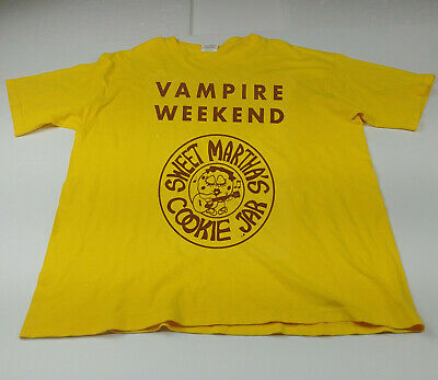 Hot!! New Vampire Weekend Sweet Martha's x t-shirt Limited Size S-3XL