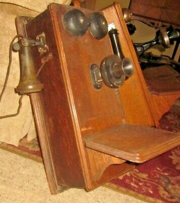 Western Electric Wood Wall Telephone