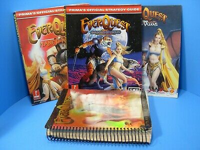 EVERQUEST LOT - Planes of Power Strategy Guide & Everquest