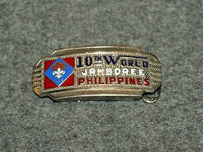 World Jamboree Belt Buckle…10Th World Jamboree Philippines 1959