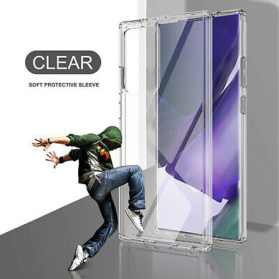 For Samsung Galaxy Note 10/10 Plus Crystal Clear Slim Soft Silicone Case Cover