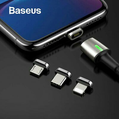 Baseus Magnetic Type-C Apple Lightning Micro USB Cable Fast Charging Cable