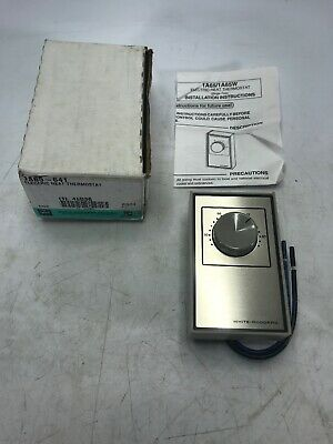 White-Rodgers 1A65-641 Electric Heat Thermostat 4E036 NEW OLD STOCK
