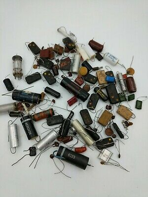 Vintage capacitor lot     A-19