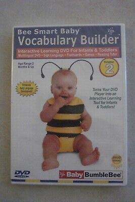 + Baby Bumblebee Vocabulary Builder - Interactive Learning Dvd Vol 2 (Region 4]