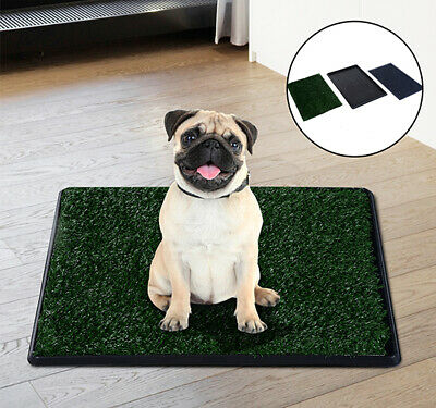 PawHut Artificial Grass Dog Puppy Toilet Trainer Potty Indoor Outdoor Hygienic
