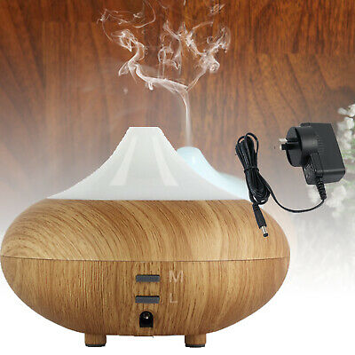LED Aroma Aromatherapy Diffuser Essential Oil Air Humidifier Ultrasonic Purifier