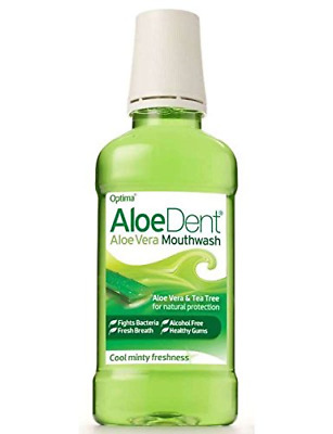 6 PACK - Aloe Dent Aloe Vera Mouthwash | 250ml | 6 PACK - SUPER SAVER - SAV...