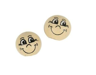 SALE - 20 Wooden Heads for Crafts - 12mm   Wooden Shapes for Crafts