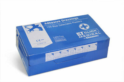 CLICK MEDICAL BLUE DETECTABLE (Pack of 120)