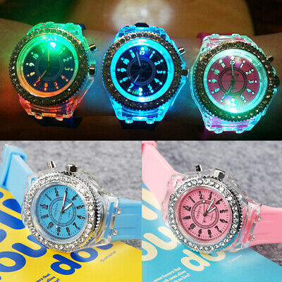 Girls Boys Ladies Digital Sports Watch Children's PARTY Gifts Kids LED Flash Toy