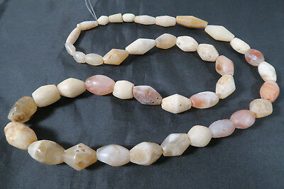 Antike Achatperlen AH77 Antique Old Agate Stone trade beads Asia Africa Afrozip
