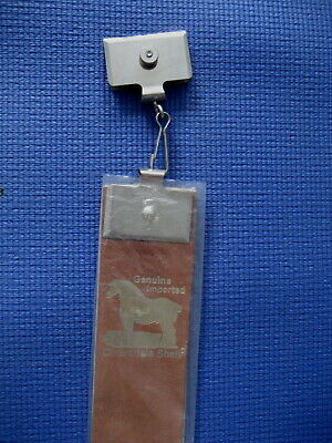 Vintage Leather Razor Strap Strop #129A Clydesdale Shell.......NOS!!
