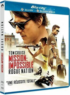 [Blu-ray]  Mission Impossible 5  : Rogue Nation  [ Tom Cruise ]  NEUF cellophané