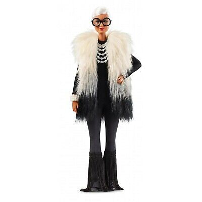Barbie Collector Styled by Iris Apfel Doll with Multi-Hued Vest Toy Gift