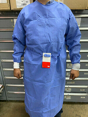 3M High Performance Disposable Surgical Gowns Reinforced Size Large Qty (38) PCS