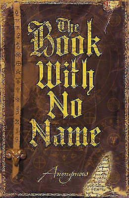 The Book With No Name, Anonymous, n/a, Very Good Book