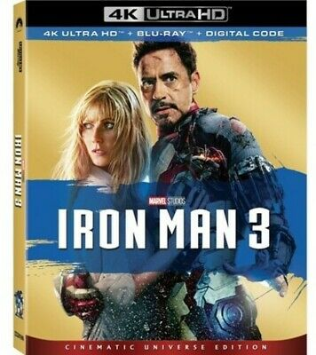 Iron Man 3 [New 4K Ultra HD] With Blu-Ray, 4K Mastering, Collector's Ed, Dolby