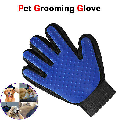 Pet Grooming Brush Massage Glove Dog Cat Comb Hair Remover Fur Deshedding Tool